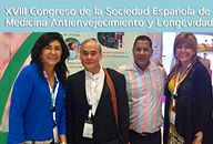 El Dr. José Ignacio Lao participa en el 18th International Congress of Anti-Aging Medicine